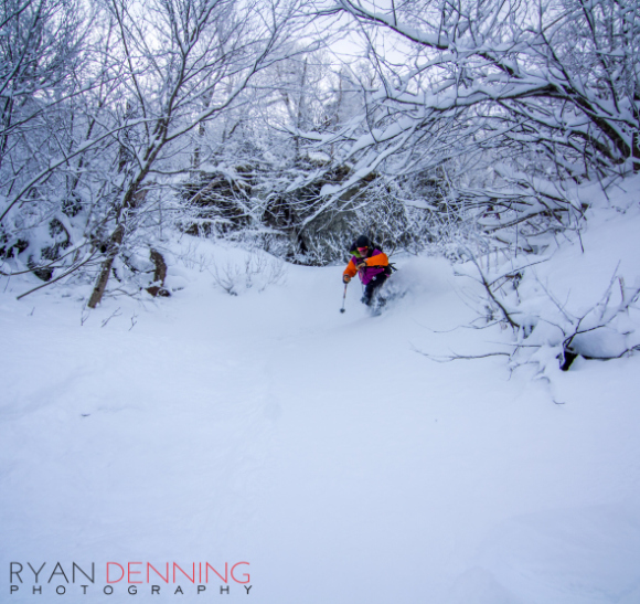 Photo: Ryan Denning  (I didn't hate blowing through the fluffy stuff either)