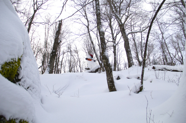 Taylor (Yeti) Luneau sending it before most of you were awake!
