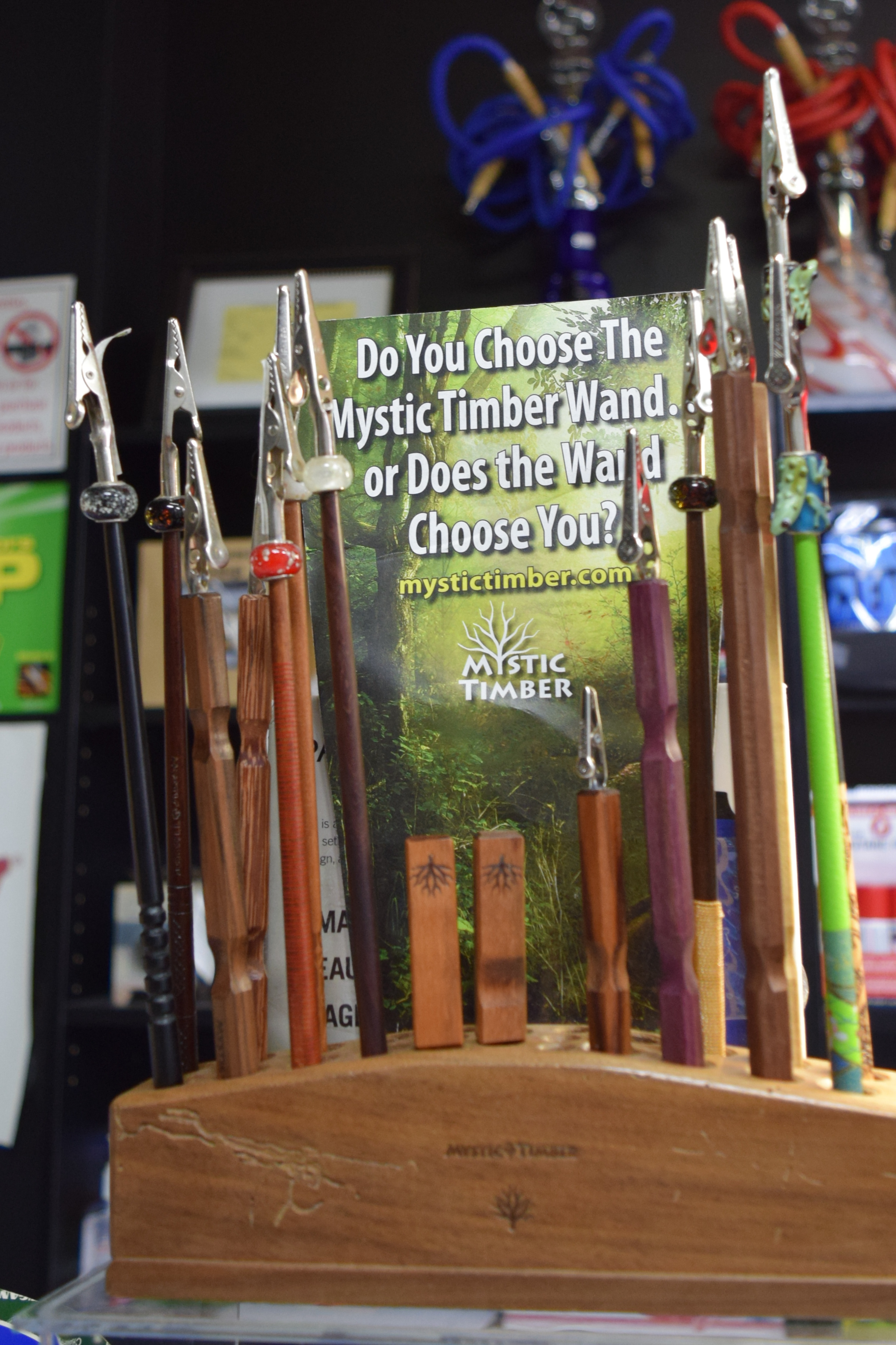 Mystic Timber smoker wands http://mystictimber.com