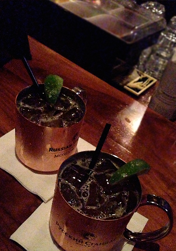 Kentucky Mules at The Griffin / Bourbon and Goose