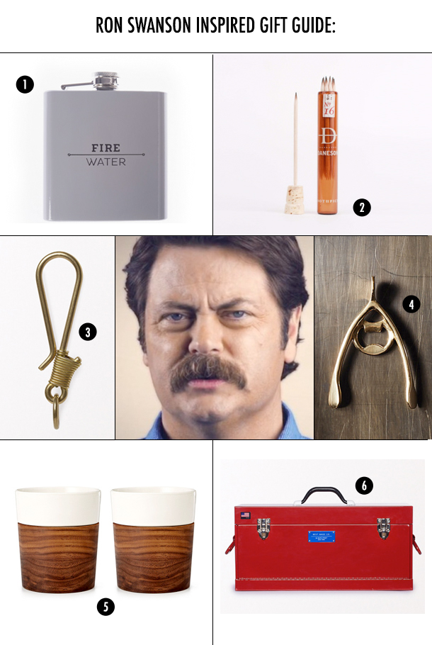 Gift Guide Crazy: Presents For Your Ron Swanson / Bourbon and Goose