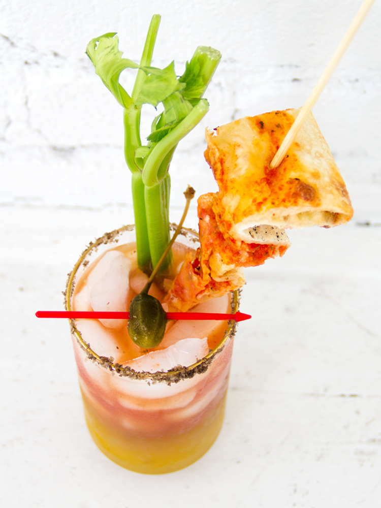 #HappyHourClub 05: Cheese Pizza Bloody Mary