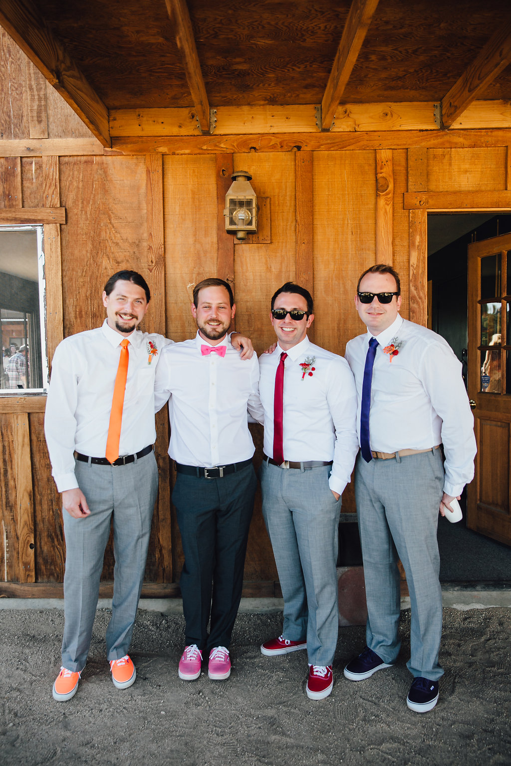 Groomsmen / Joshua Tree Wedding