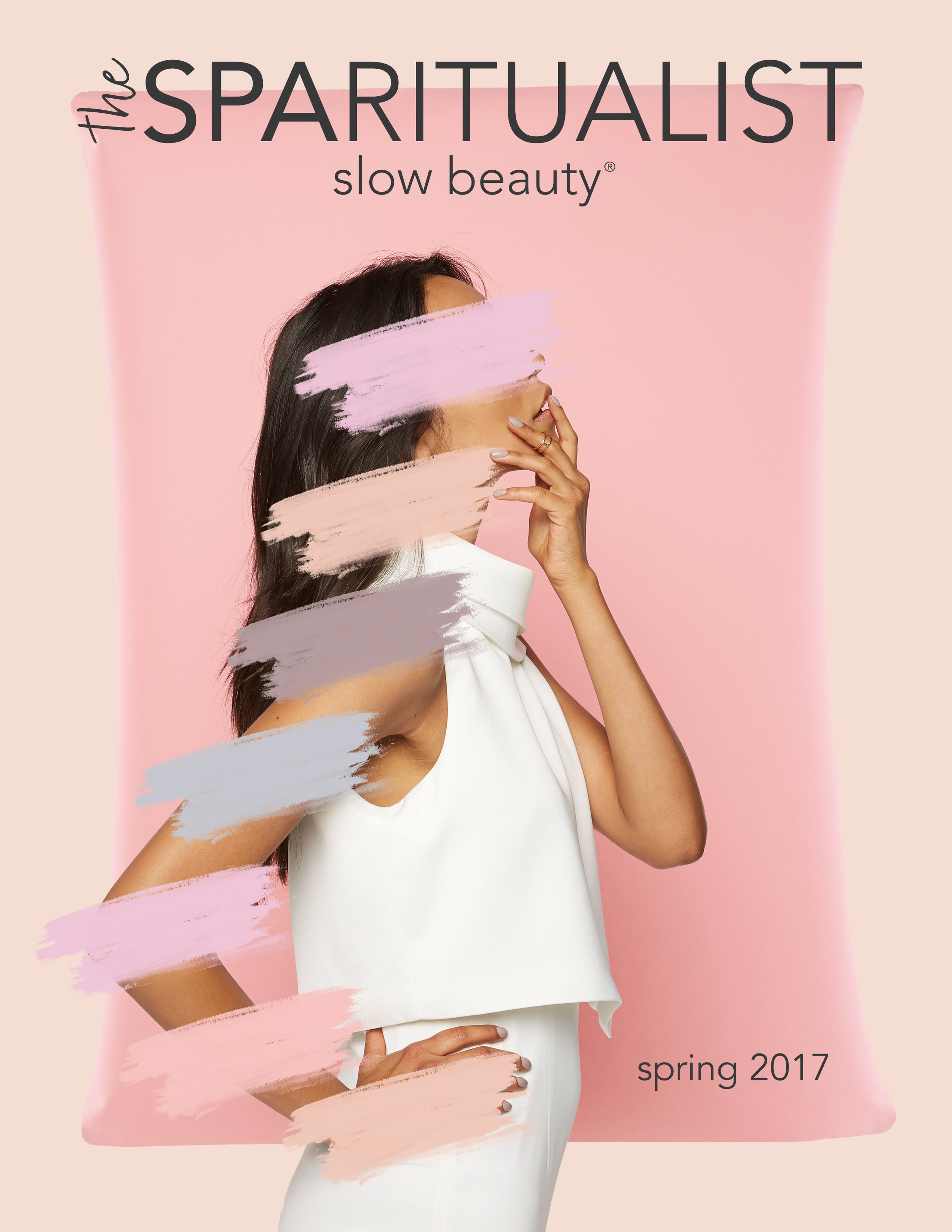 SpaRitual Inhale + Exhale Vegan Color Campaign for Nourishing Color