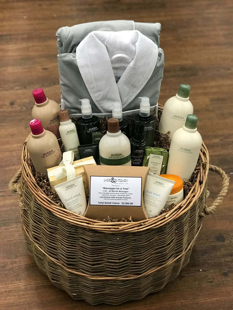 Enter to win our Holiday Spa Prize Basket valued at $2,000.
