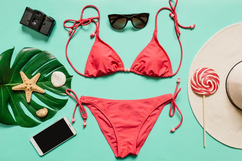 summer bikini wax