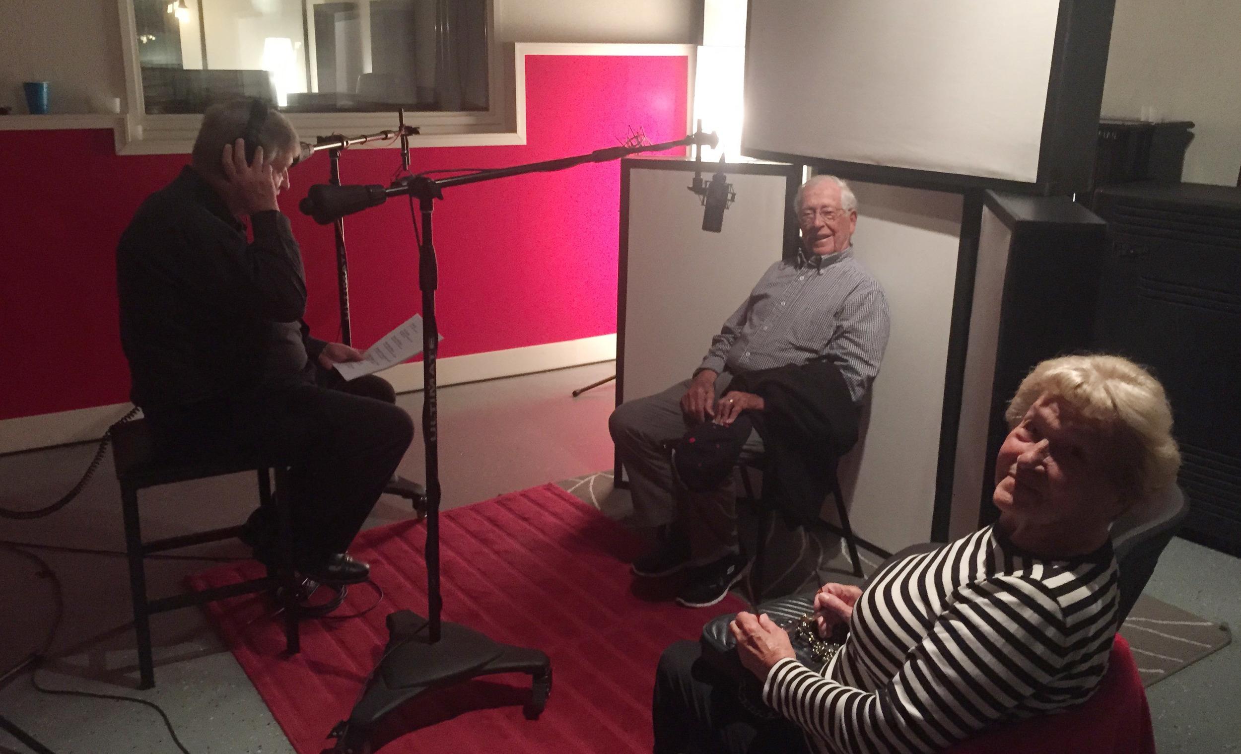 Recording the Audiobook