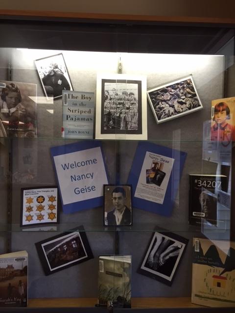 Williamsburg Kansas Library Display.JPG
