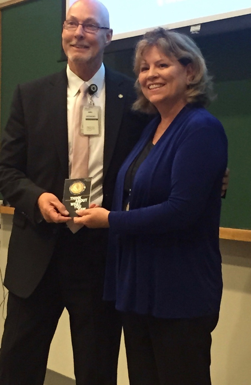 A wonderful honor to be awarded the  Coin of Excellence  by the U.S. Holocaust Memorial Museum in Washington, D.C. (2015)