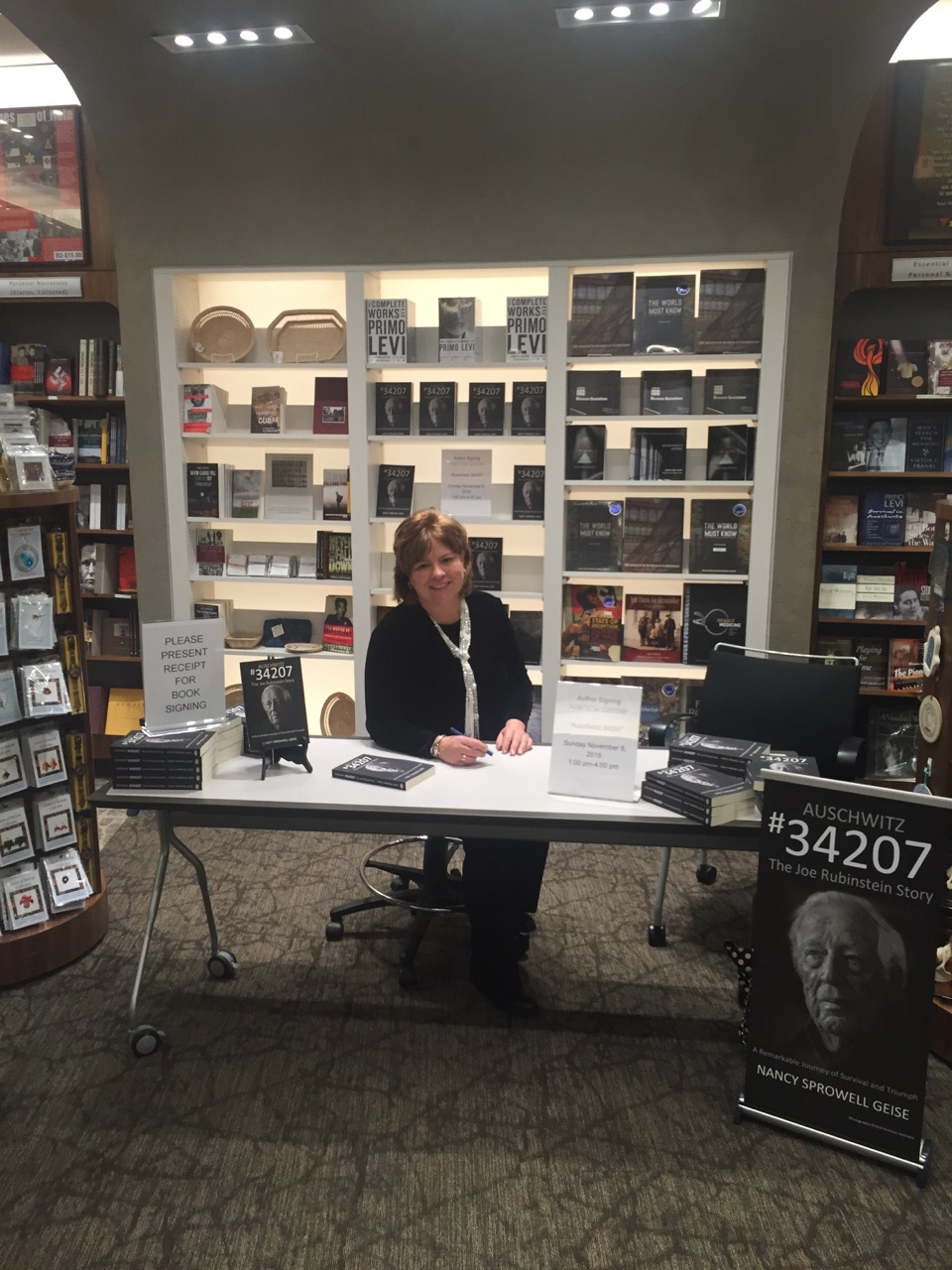 Book Signing at United States Holocaust Memorial Museum, Washington, D.C. (2015)