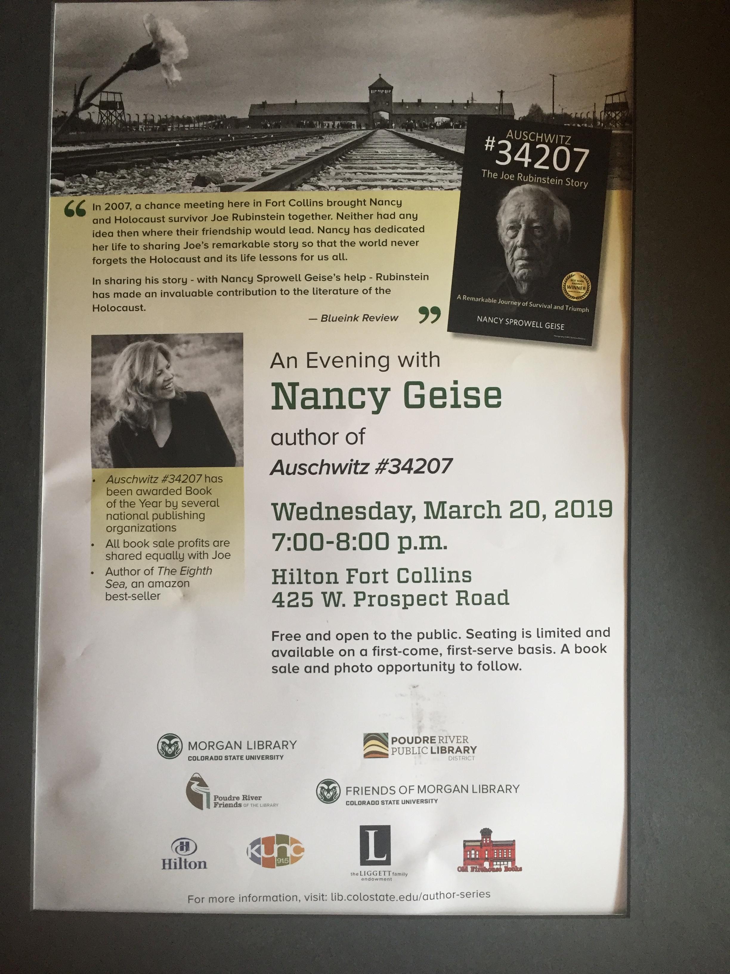 COLORADO STATE UNIVERSITY, FORT COLLINS, COLORADO   MARCH 20, 2019