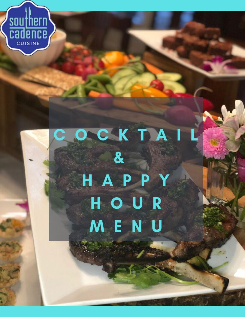 Cocktail & Happy Hour Menu