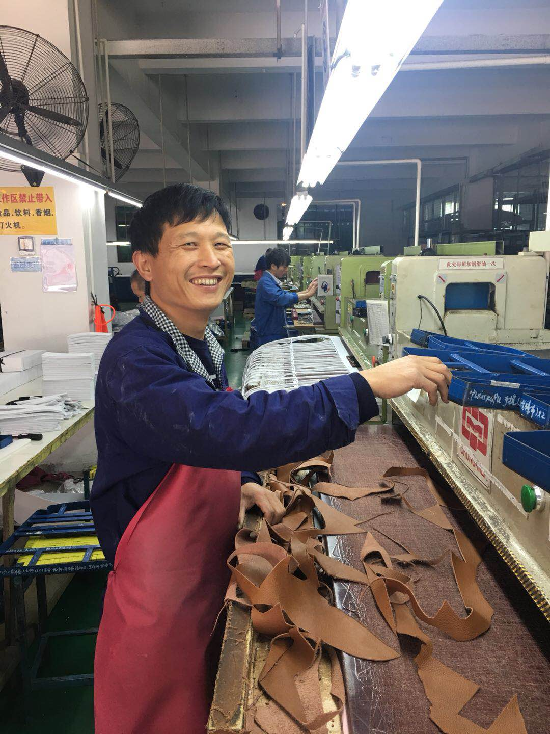 FACTORY - LEATHER CUTTING
