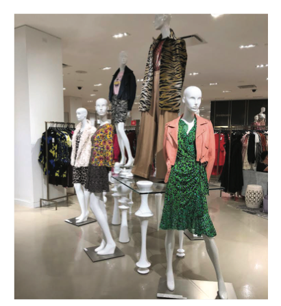 Saks Fifth Avenue: 80's Back with animal prints and bold colors!