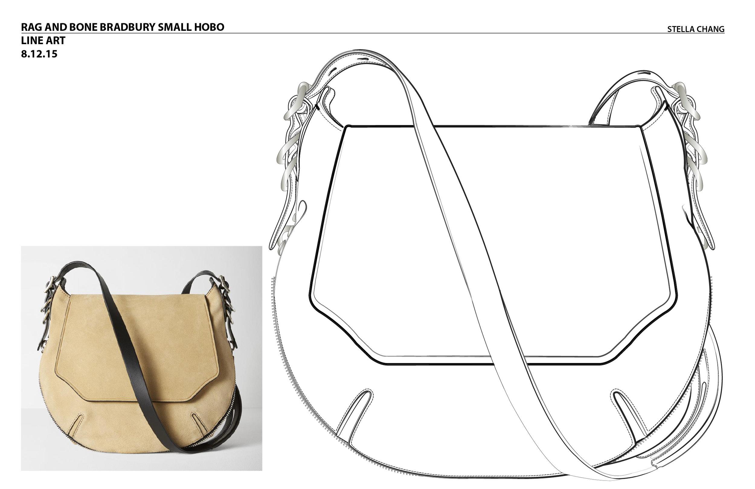 Product Concept Illustration-  Rag & Bone, 2015