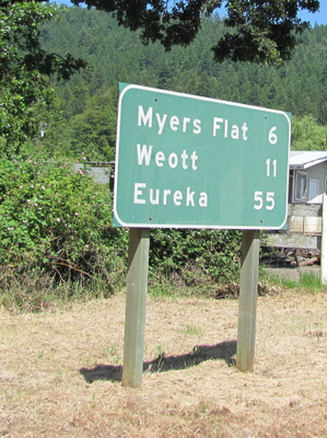 Eureka is only ten miles from Arcata, our final stop.