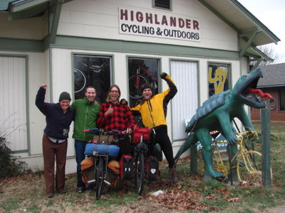 Bryon from Highlander Cycling made our visit to Russelville great