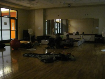 """""""Camped"""" in the YMCA in Tazewell, VA"""
