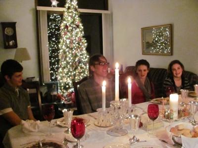 A Christmas feast!