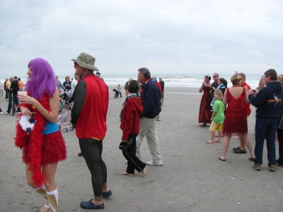 Before the plunge into the Atlantic ocean