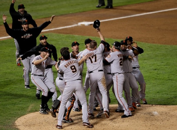Giants win as Tommy & Aaron celebrate thousands of miles away