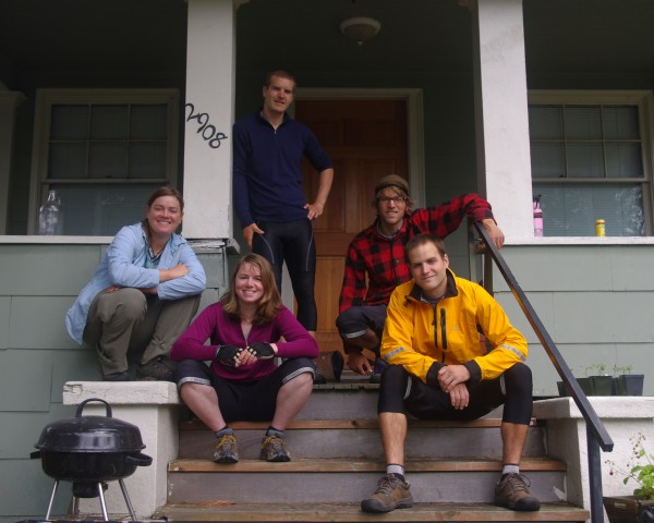 """bike49 at the """"Miss Jackson"""" house (Seattle)"""