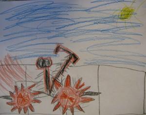 A 2nd graders dream bike
