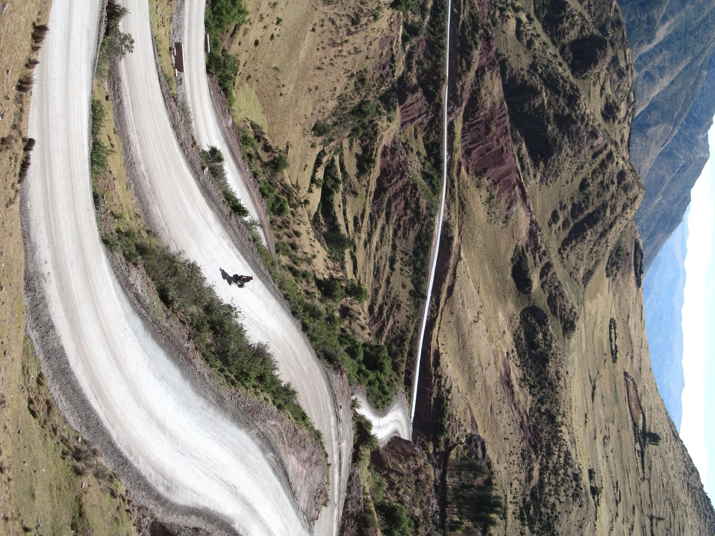 Amazing switchback to make up for the extra climbing.