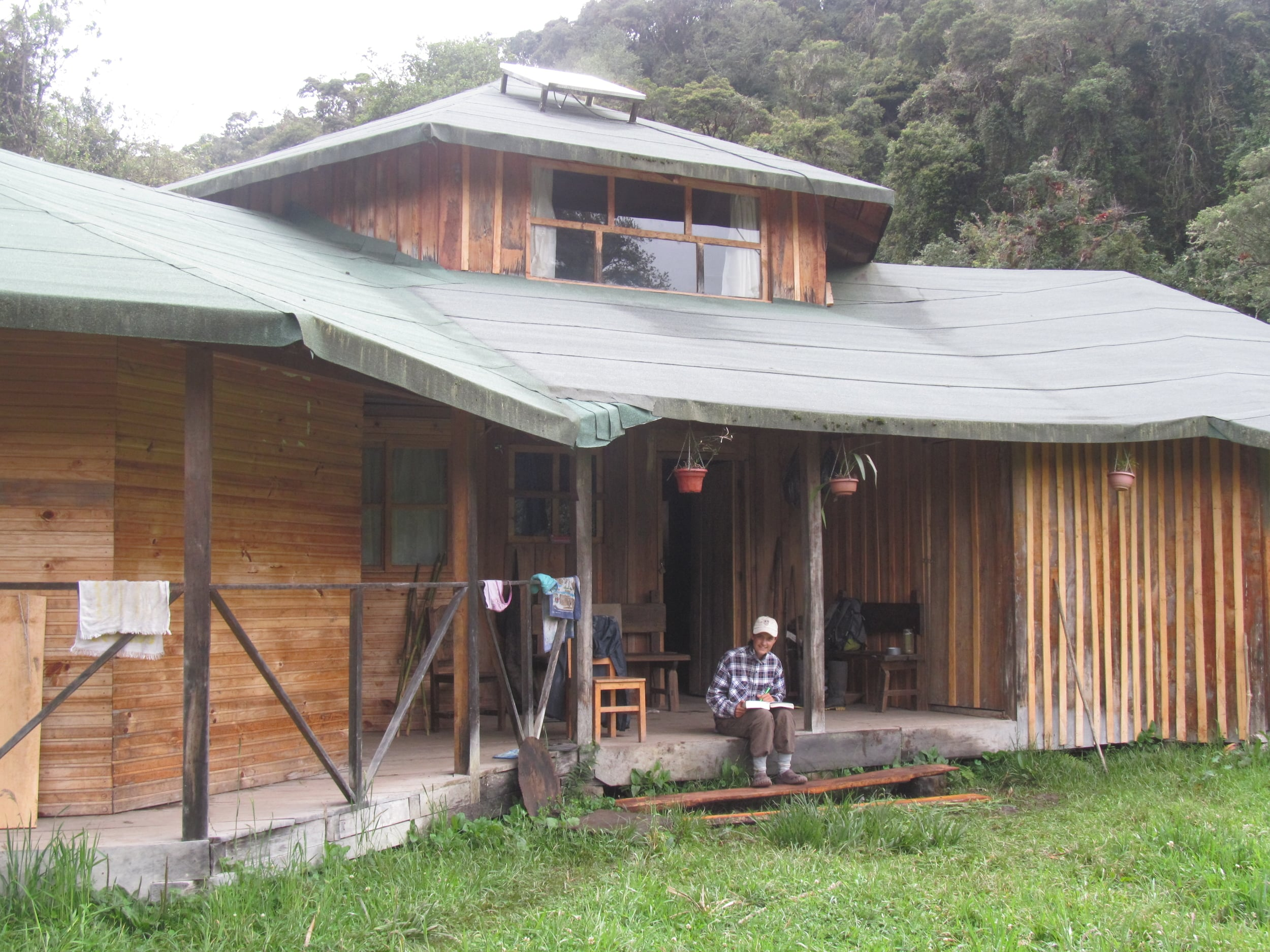 Our cabin in the forest for the two weeks we volunteered with the Andean Bear Foundation.