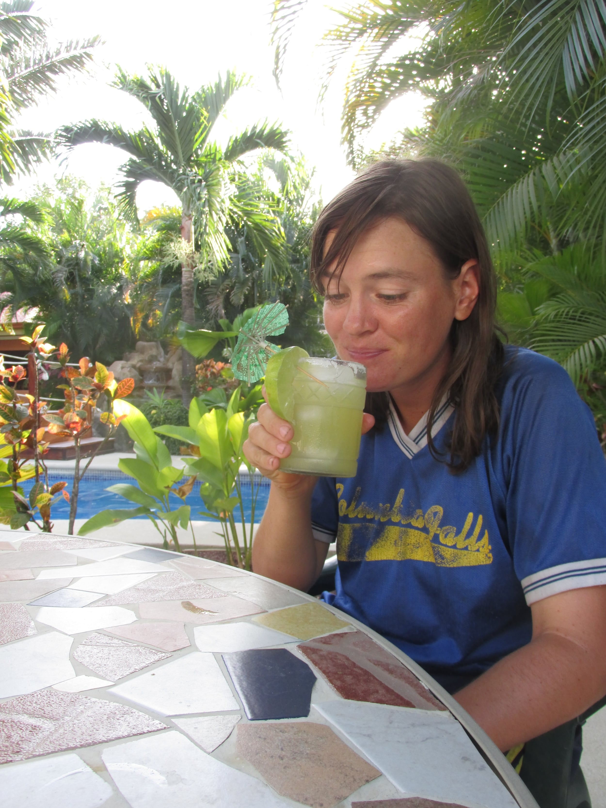Costa Rica can be expensive, but once in awhile one needs a bit of luxury, maybe even a margarita.