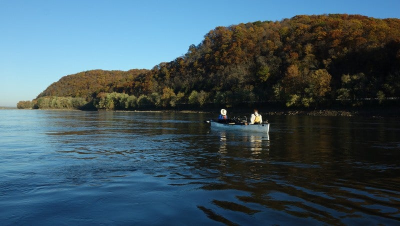 We wish we had more daylight to enjoy these Missouri River views!