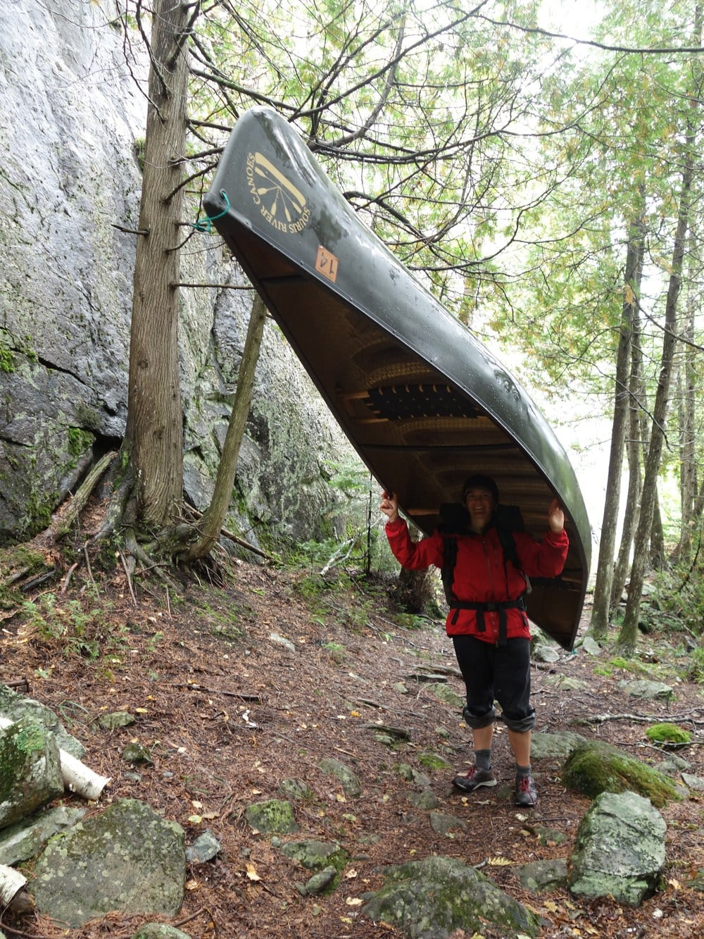 I took a trip to the Boundary Waters in MN to practice canoeing and learn to portage.