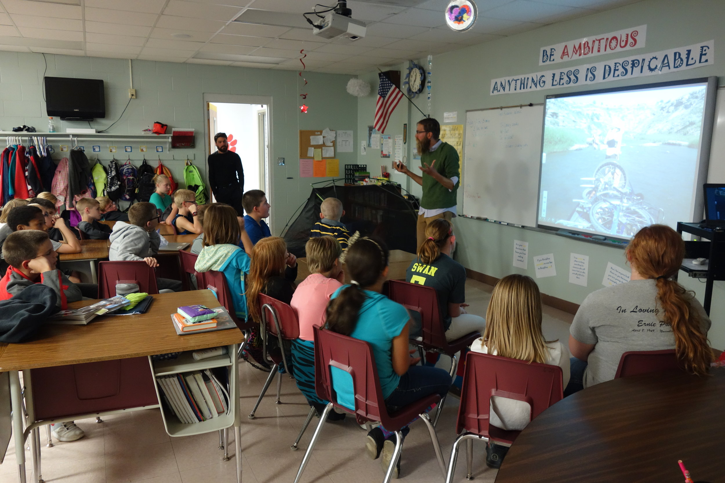 Beyond A Book integrates adventure with presentations, videos, skype calls, field trips, and more!