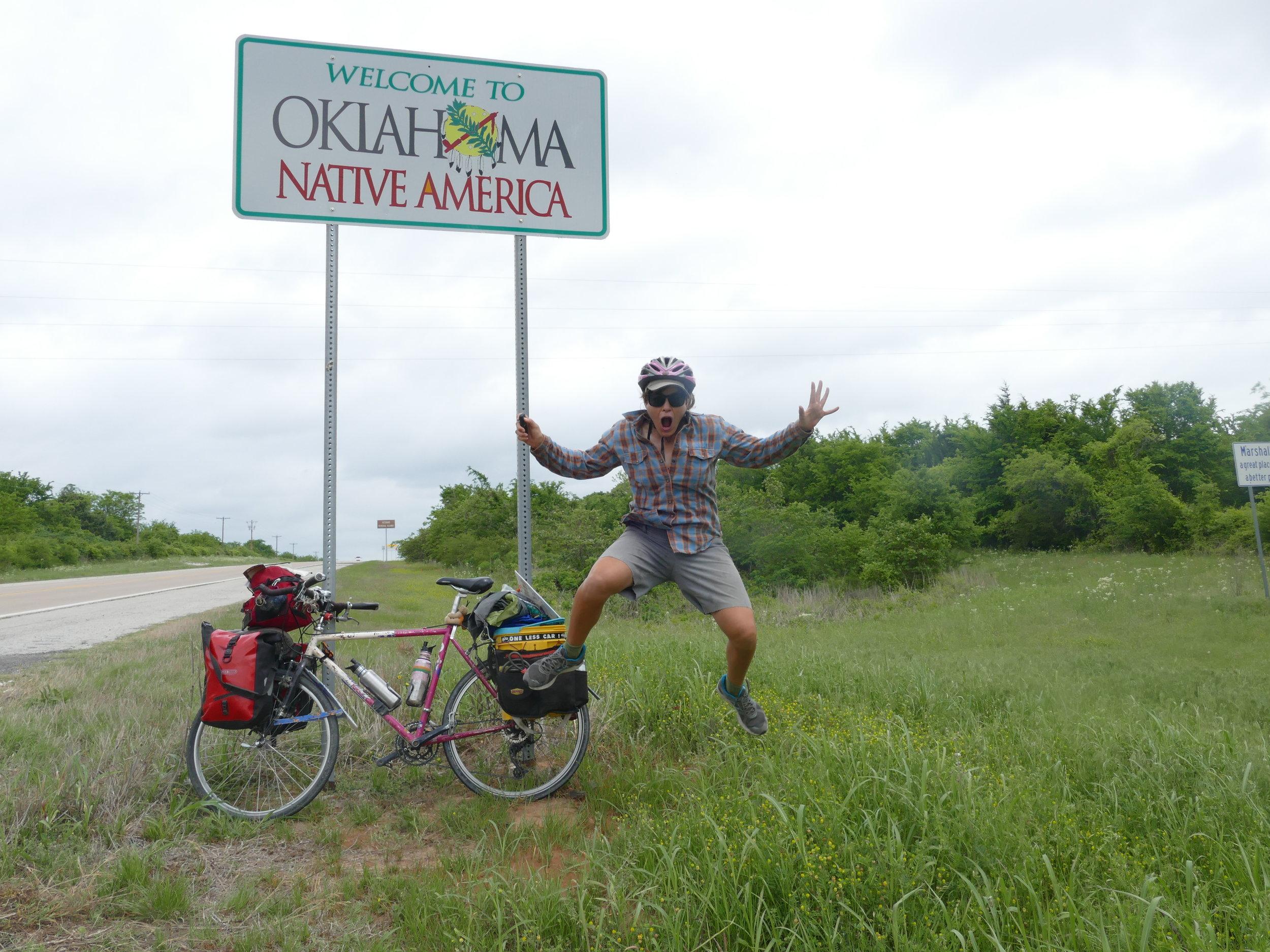 Texas and Oklahoma...check!
