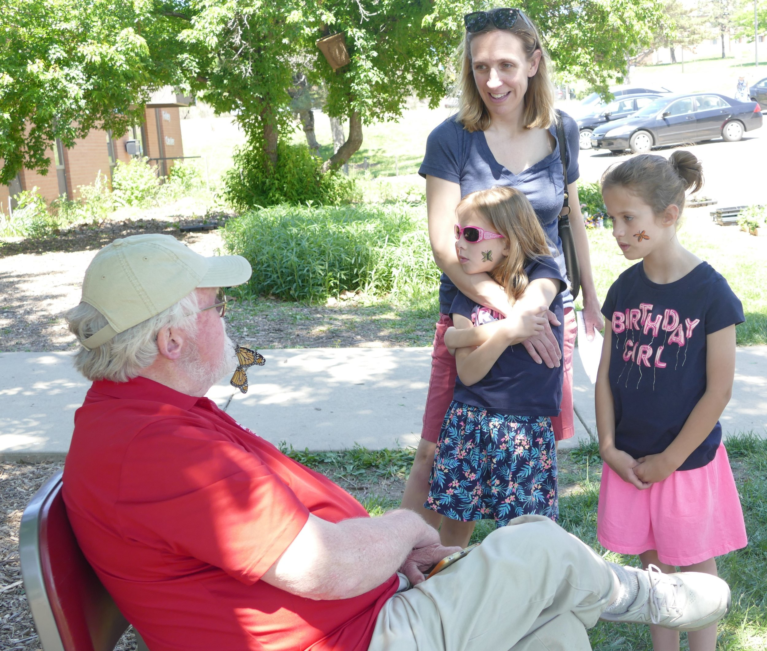 Dr. Chip Taylor, who founded Monarch Watch, an outreach program focused on education, research and conservation relative to monarch butterflies, finds time to talk monarchs with monarch fans.