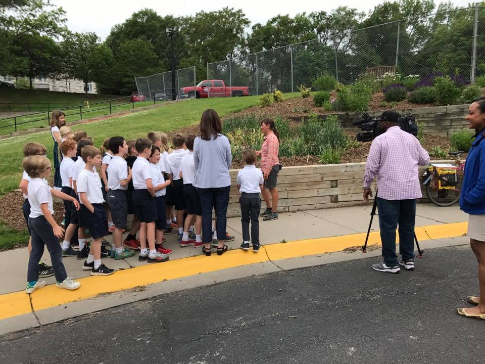 At first skeptical, this school can now be proud of their garden, which has helped kids explore nature and be part of the monarch migration; and was featured on the nightly news!