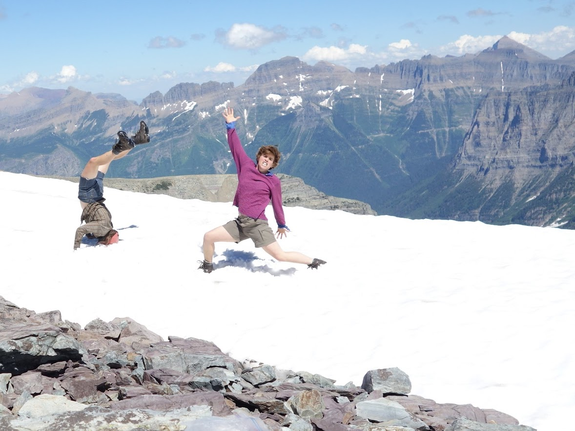 Maddy and I met in Glacier National Park and both enjoy a good, difficult adventure.