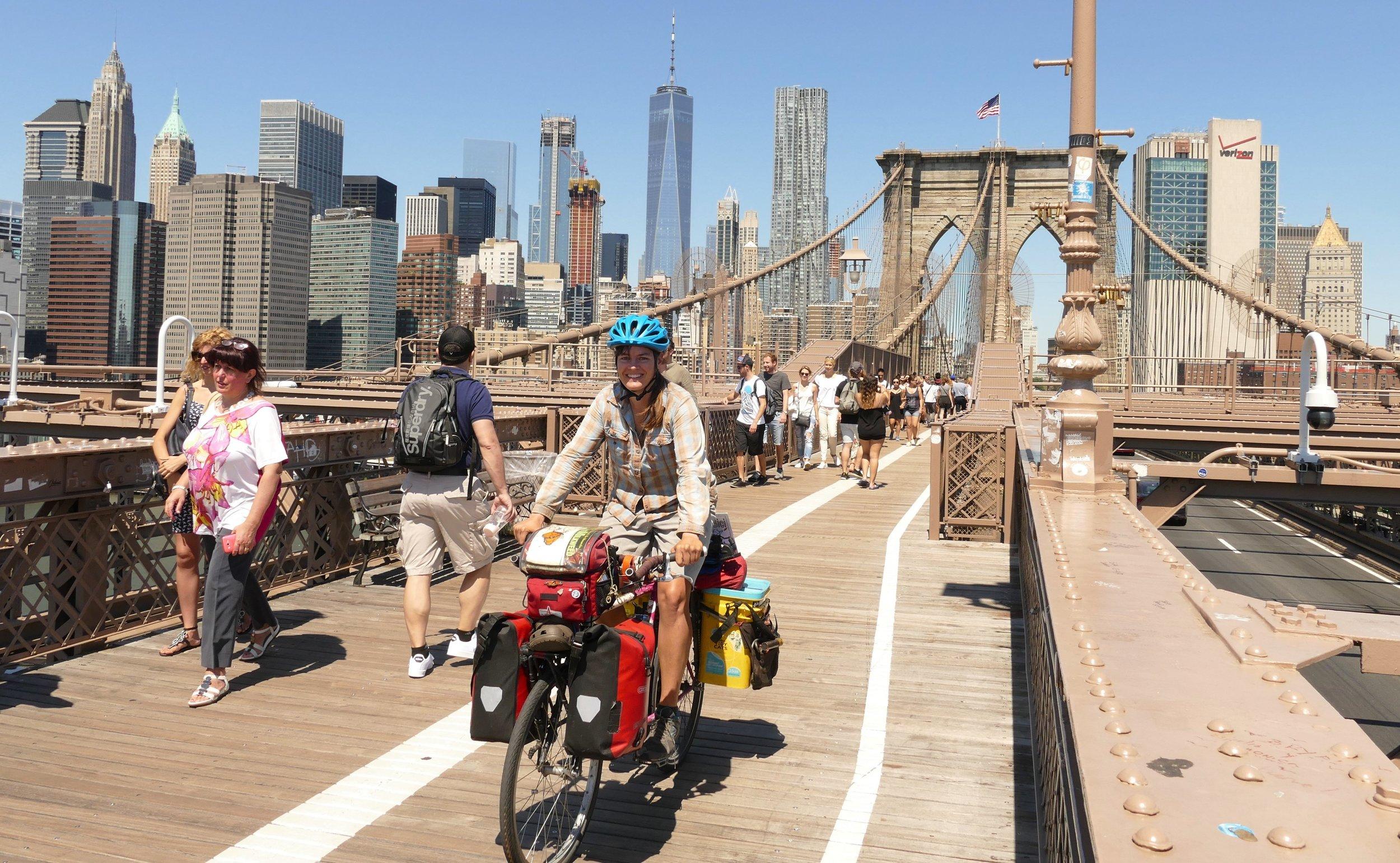 Crossing the Brooklyn Bridge was one of my favorite adventures during my New York city visit.