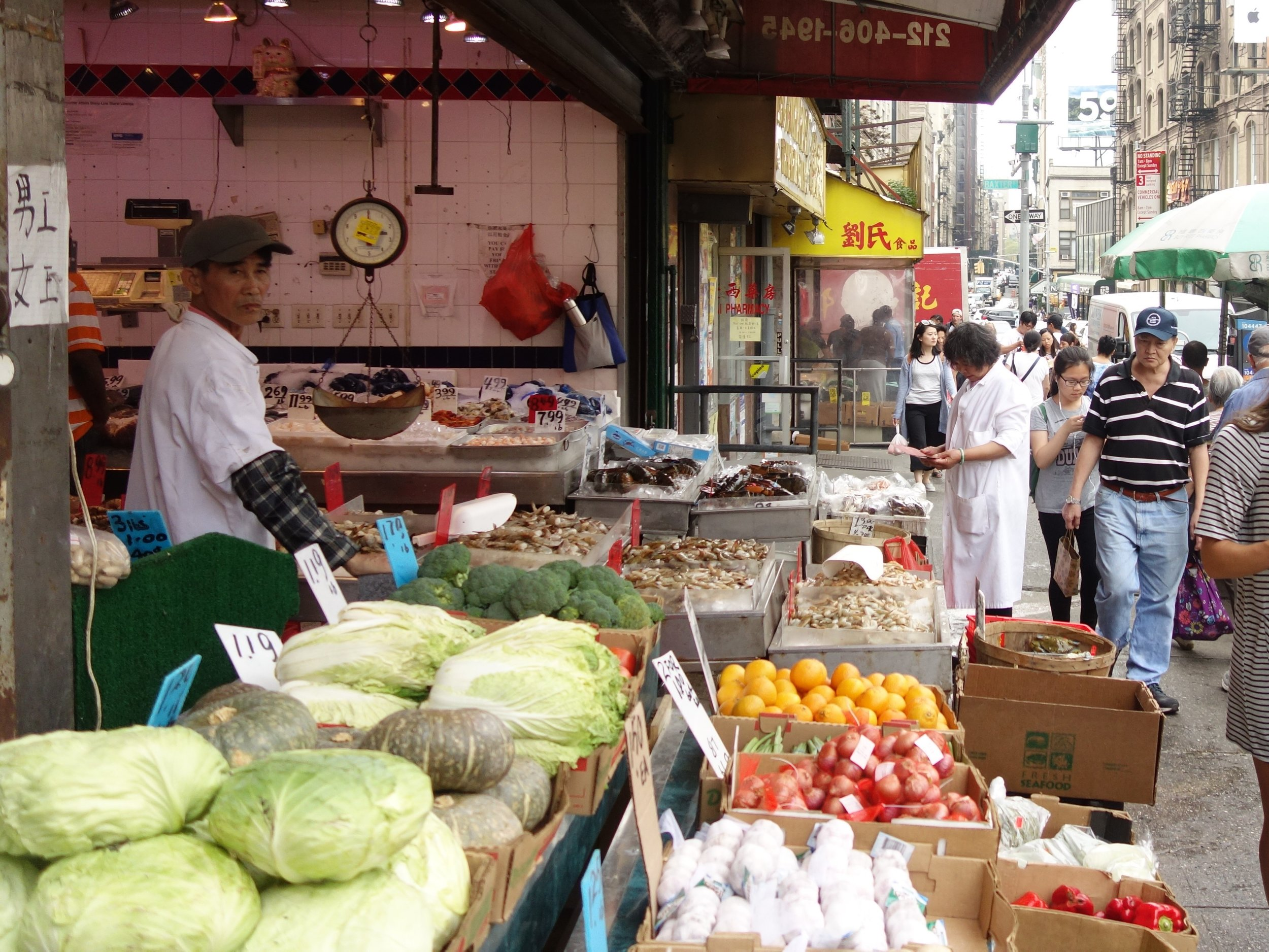 New York city is a collection of so many types of cultures, ideas, and delicious food.