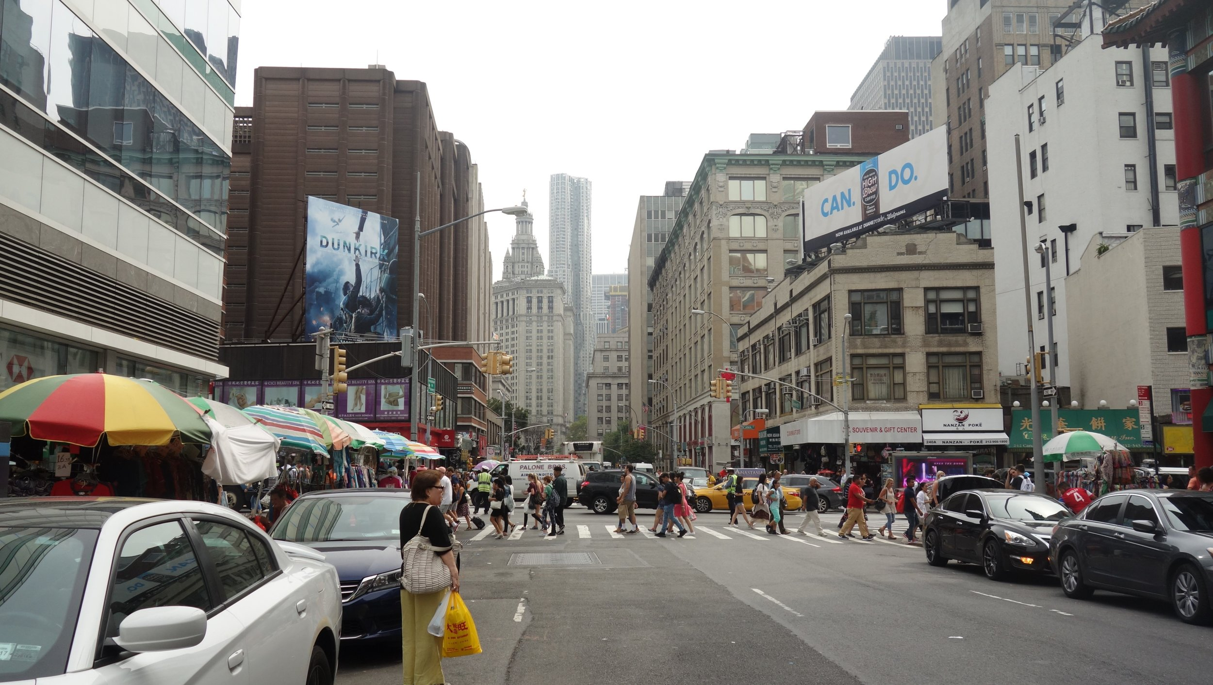 I kept busy in New York wandering by foot, bike, and even the subway.