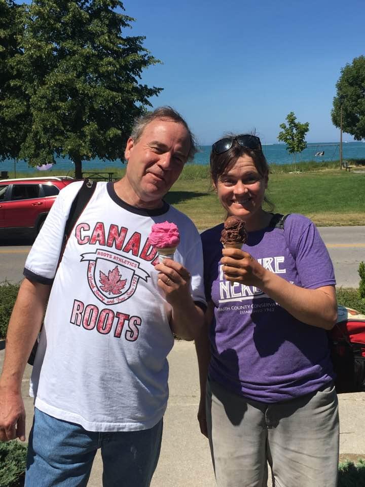 Ice Cream with Mark.