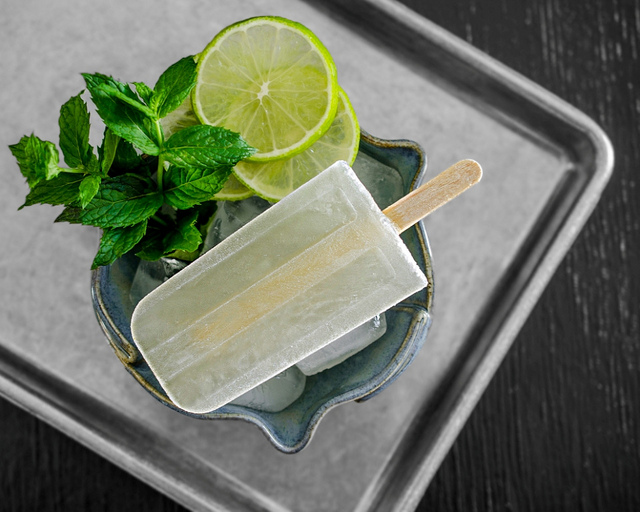 Mojito Popsicles | 8 Boozy Poptails to Stay Cool this Summer