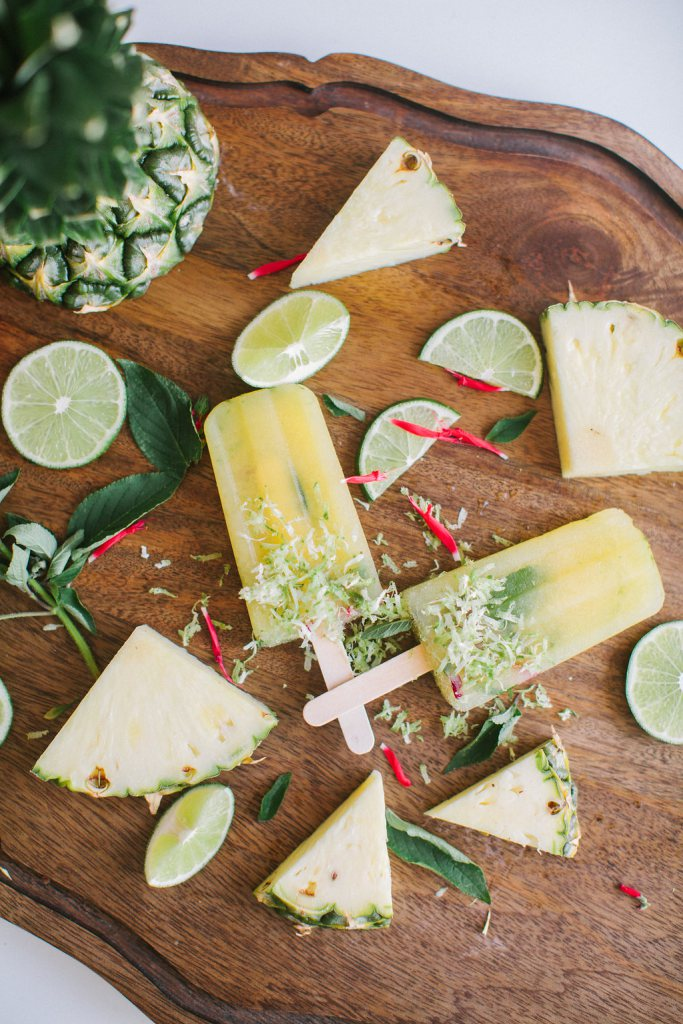 Pineapple Lime Paletas | 8 Boozy Poptails to Stay Cool this Summer
