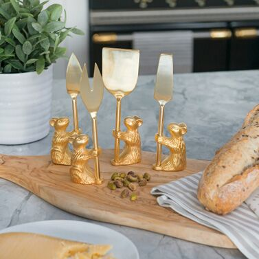 Guard the Cheese Knife Set by Zestt at Table + Dine