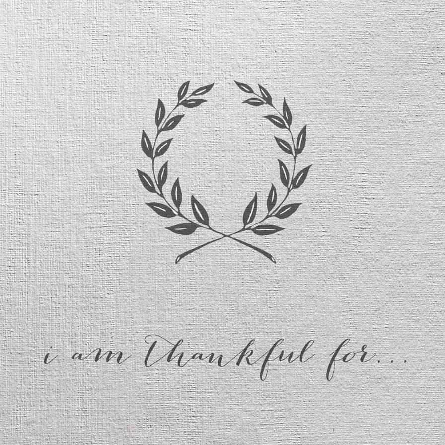 {free} Printable Gratitude Cards for your Thanksgiving Table