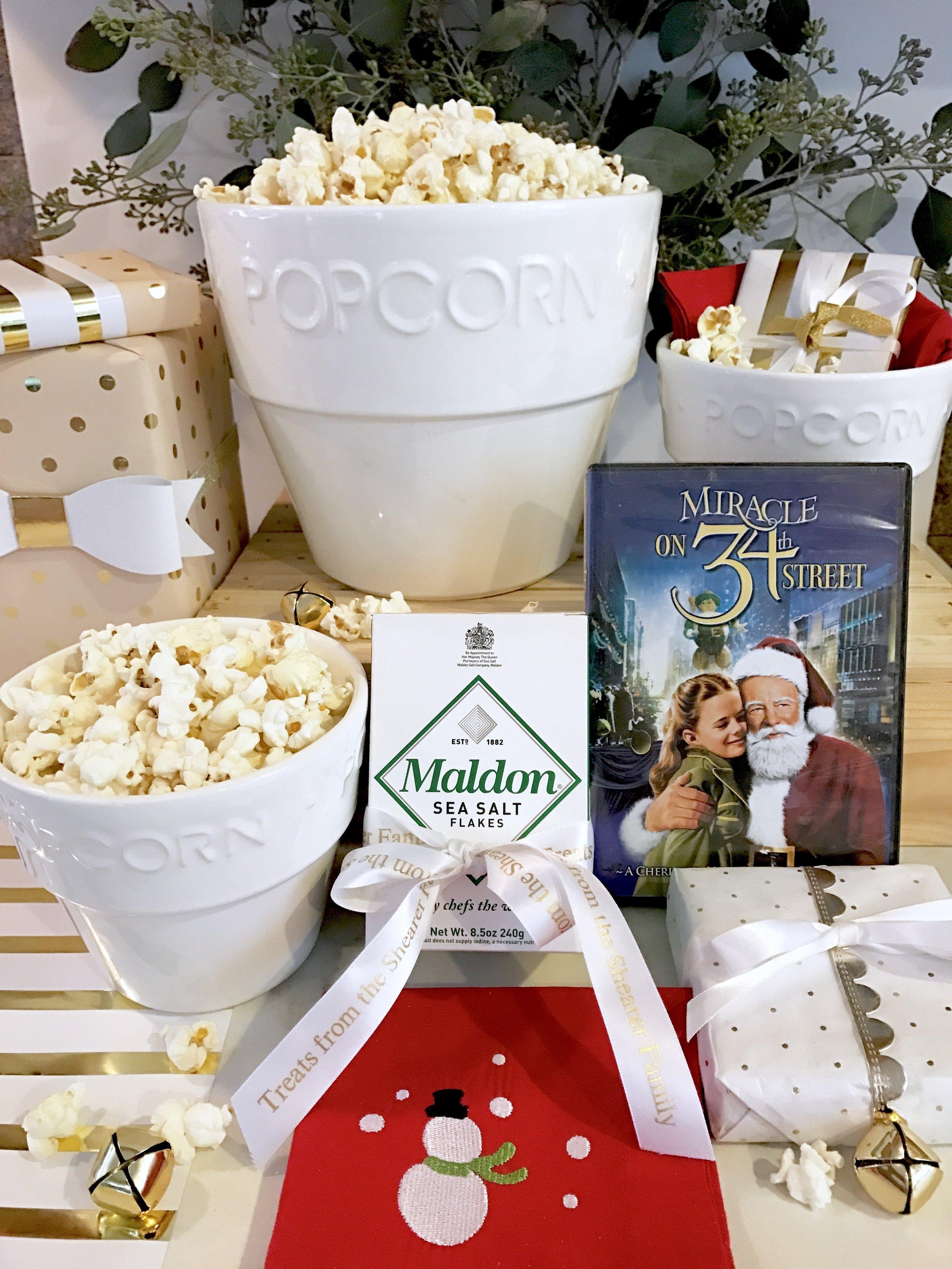 Hostess gifts - Movie & Popcorn