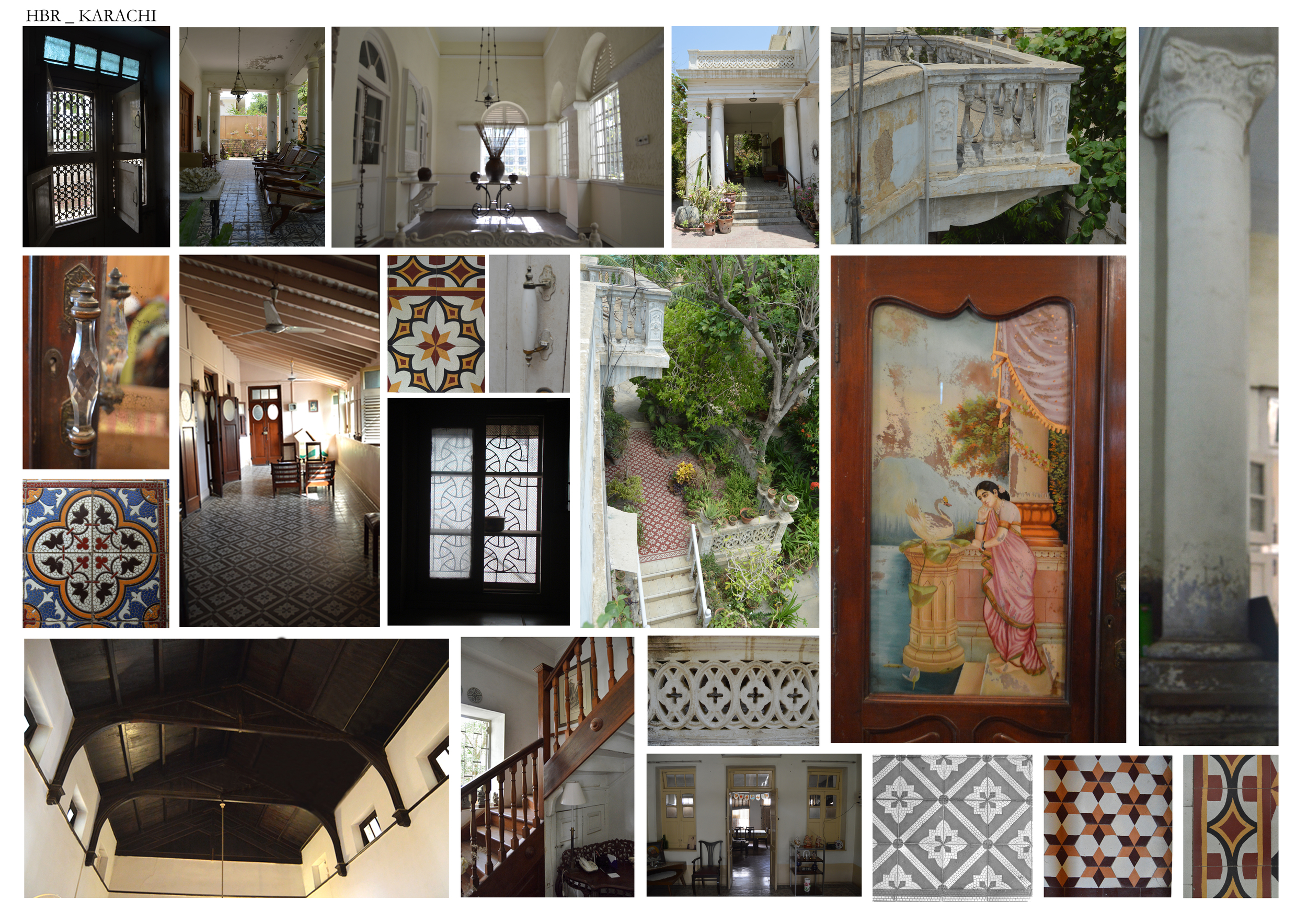 Key Architectural Features identify the style and era the bungalows belong to. The styles are broken down by the Period or Movement they are traditionally associated with. Architectural elements and features such as ventilators, windows, corridors, porticos, columns, jaali aid in recognizing the style and period of the Bungalow. These considerations will provide useful guidance when examining the significance of a building.