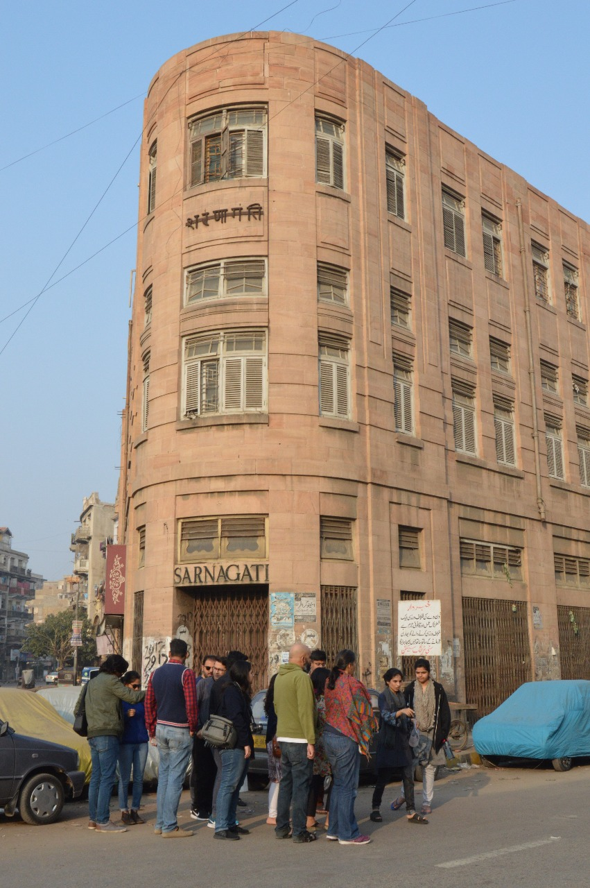 The Sarnagati Building at Pakistan Chowk | Copyright Marvi Mazhar & Associates