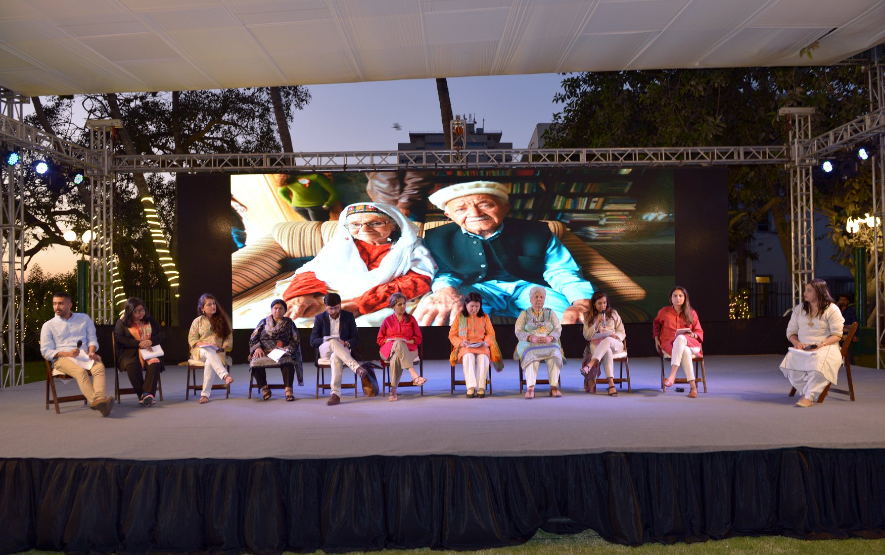 WOW - Women of the World Karachi Thinkin Session was a platform to discuss topics and issues around gender, intersectionality and digital communication heritage, and environment in Pakistan, which will contribute to programming for the main #WOWKhi festival scheduled for Spring 2019. Advisors were Sidra Iqbal Talha Iqbal Mufti Hassaan Khan Yasmin Karim Waqas Johar Maheen Zia Iram S Khan Marvi Mazhar Saima Zaidi Lynette Viccaji Sosan Aziz