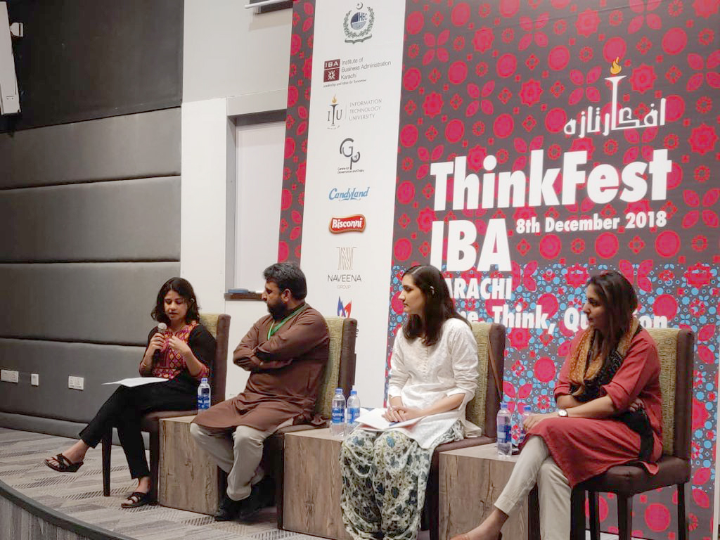 Session at the  #IBAThinkfest  on urban challenges, moderated by Nida Kirmani. Panelists Marvi Mazhar, Fizzah Syed, Ali Arqam spoke passionately about the injustices being done in the name of 'development', which are harming our heritage, the environment and citizens.  https://www.thenews.com.pk/print/403505-karachi-s-anti-encroachment-drive-is-ill-conceived-experts